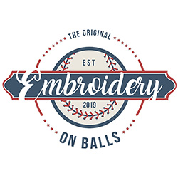 Embroidery on Balls – Baseball Softball Embroidery Supplies