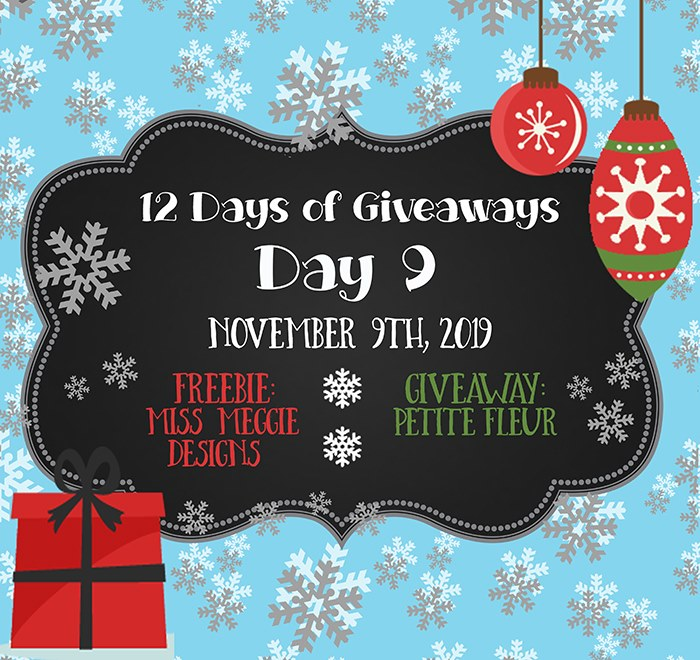 12 Days of Giveaways – Day 9