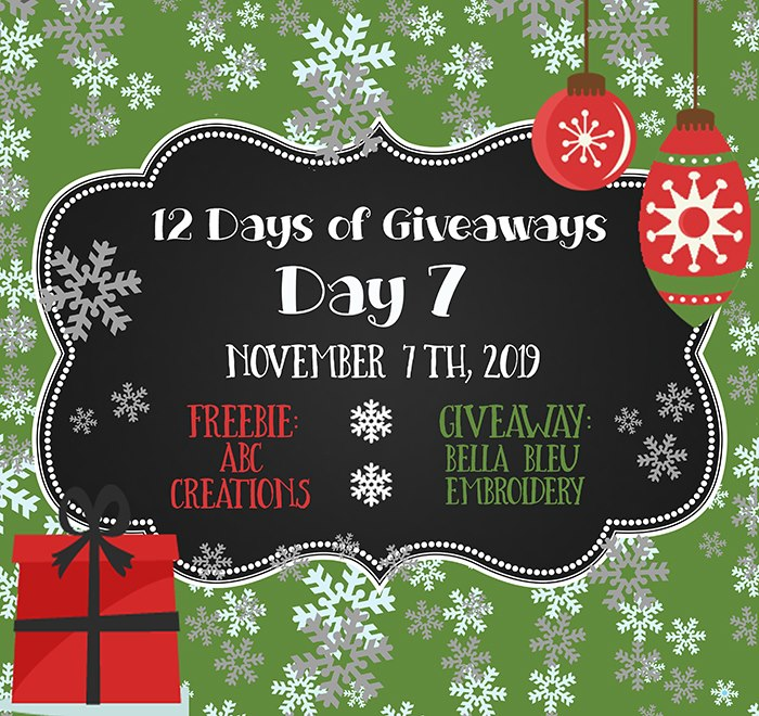 12 Days of Giveaways – Day 7