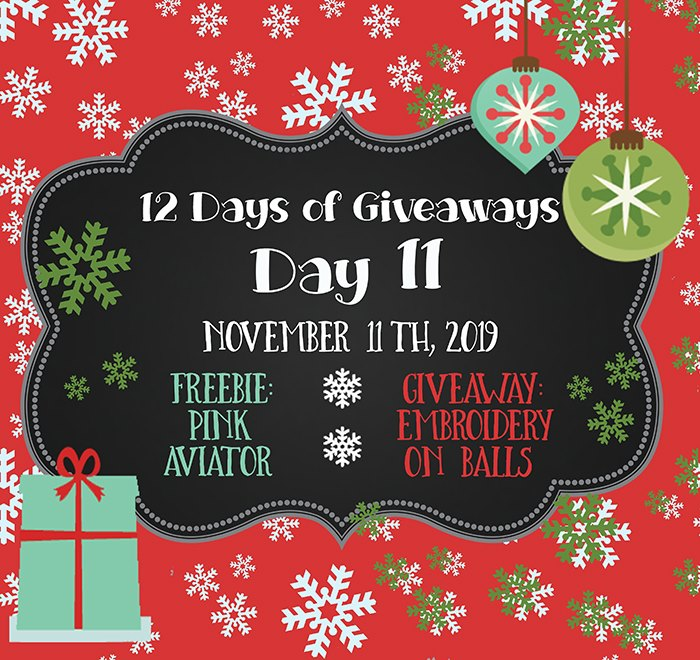 12 Days of Giveaways – Day 11