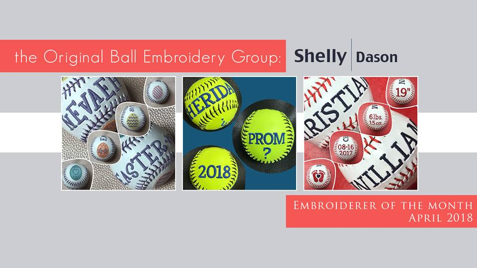 Shelly Dason-Facebook Embroiderer of the Month April 2018