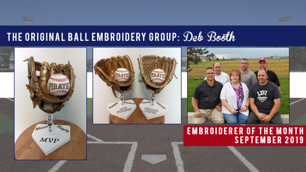 Deb Booth Embroiderer of the Month September 2019