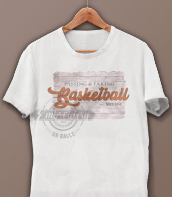 Basketball Graphic Design for Sublimation Printable Vinyl