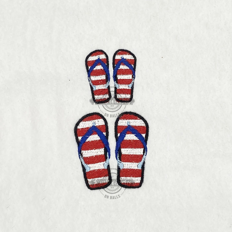 Flip Flop Stars Stripes