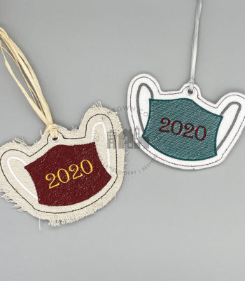 Face Mask 2020 Ornament