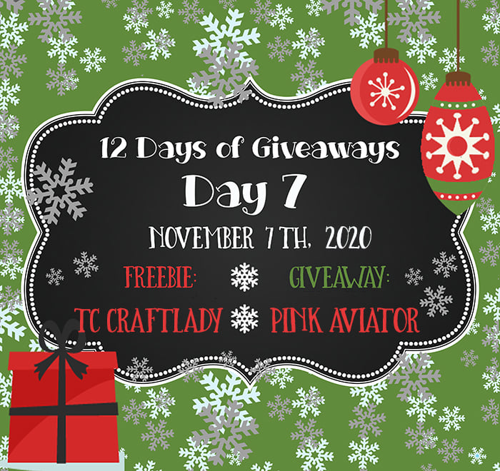 12 Days of Giveaways – Day 7 – 2020