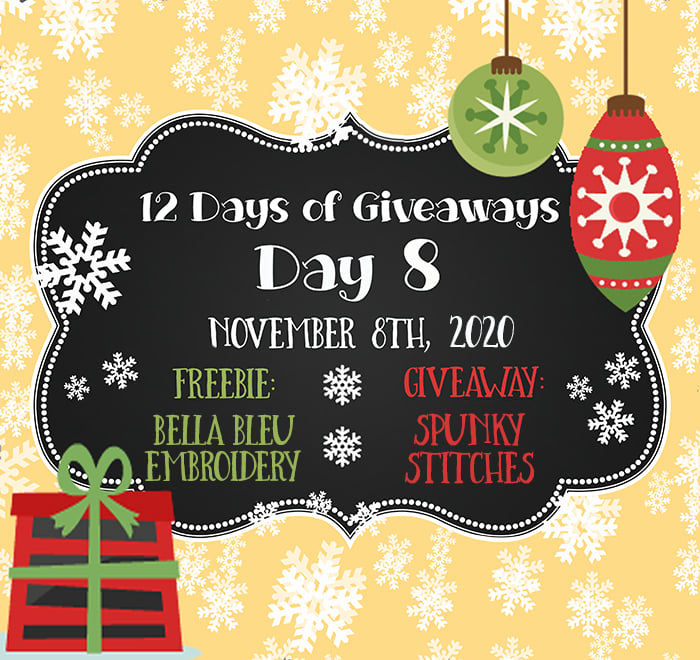 12 Days of Giveaways – Day 8 – 2020