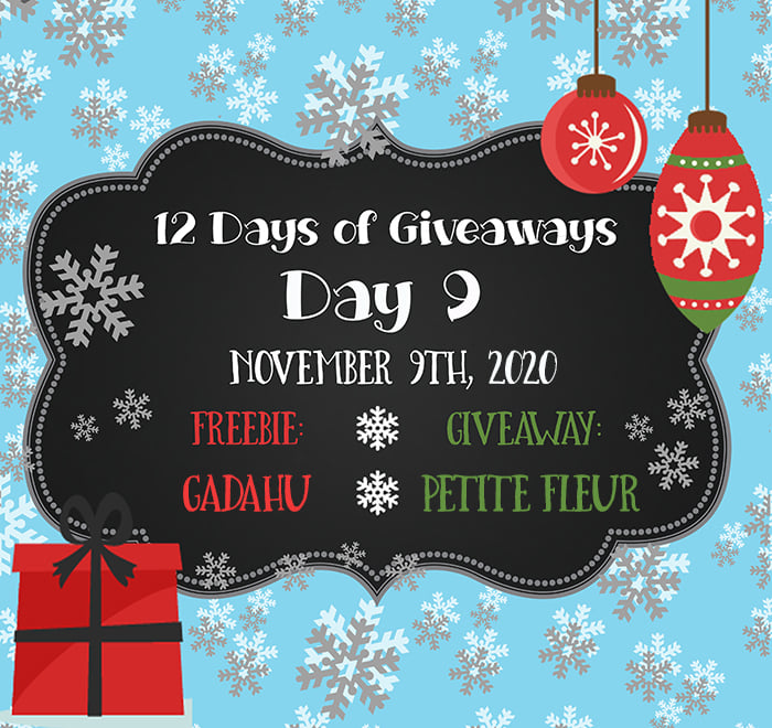 12 Days of Giveaways – Day 9 – 2020