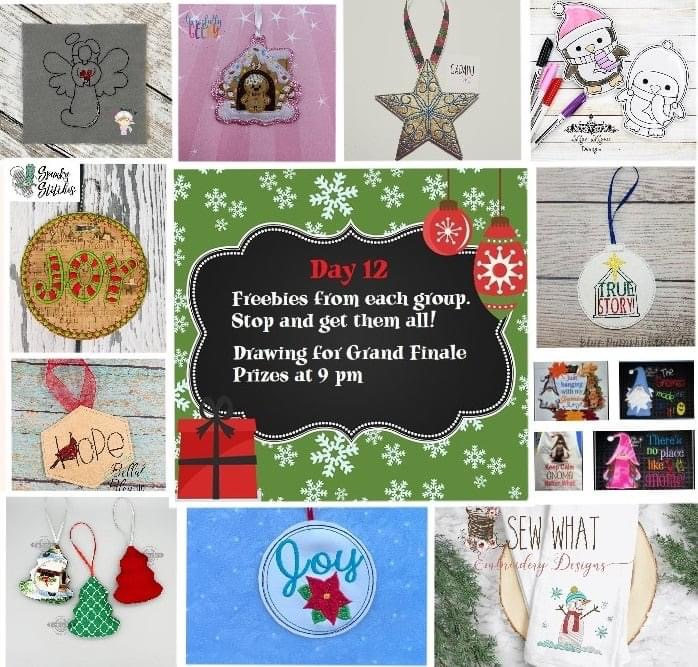 12 Days of Giveaways – Day 12 – 2020