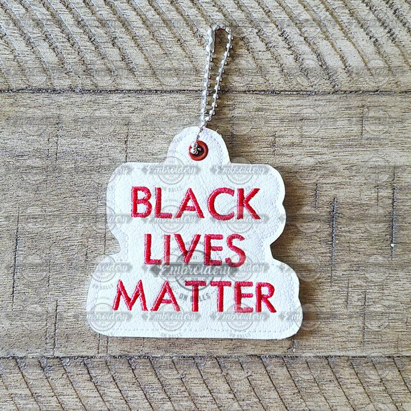 Black Lives Matter Keyfob Key Chain Ornament