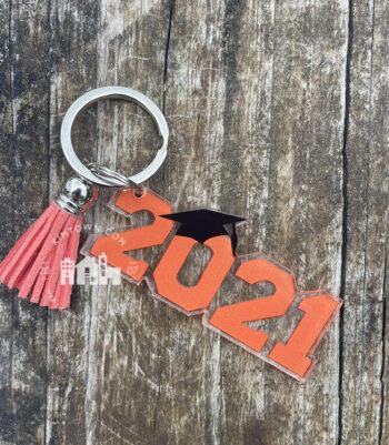 2021 Graduation Key Ring